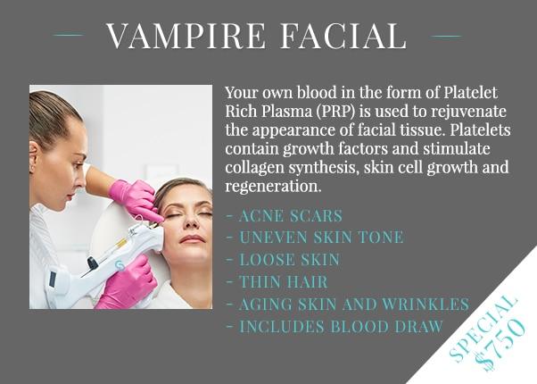 Vampire Facial special