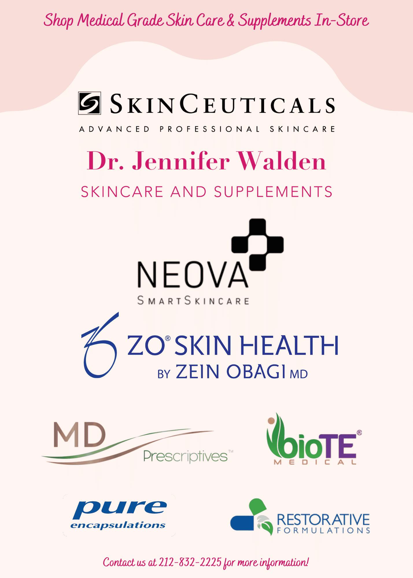 shop medical grade skin care in store1